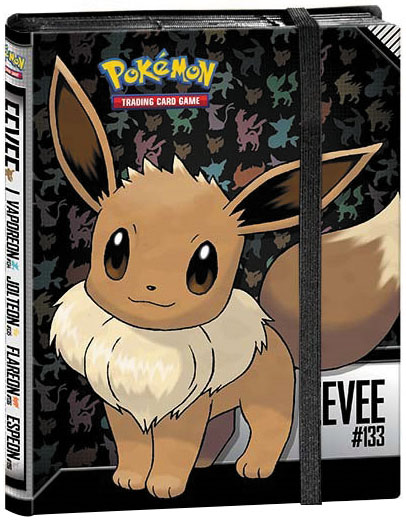 Pokemon: Eevee 9-pocket Pro-binder Box Front