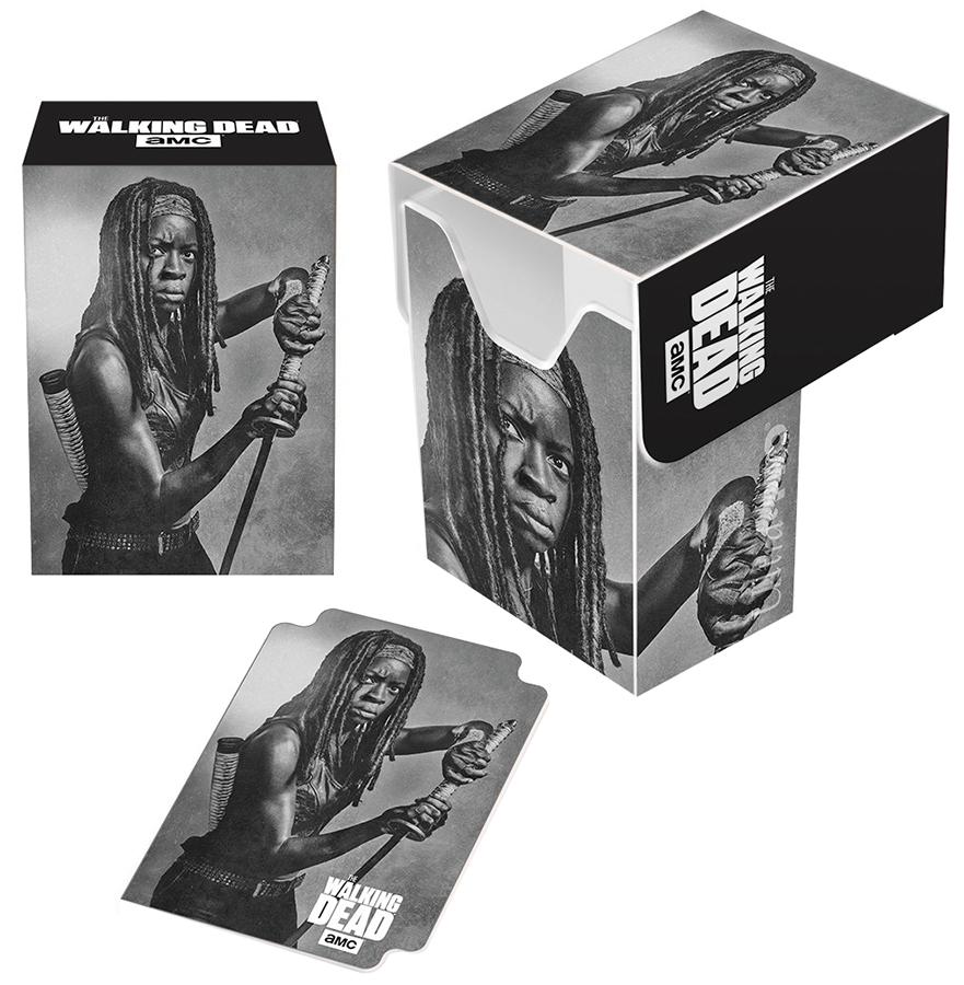 The Walking Dead: Full View Deck Box - Michonne Box Front