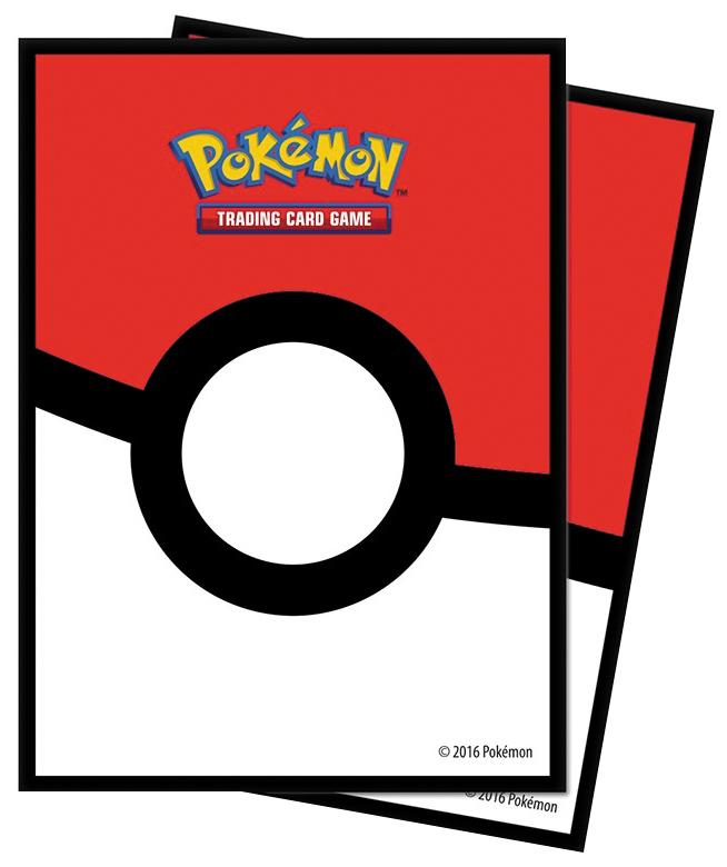 Pokemon: Pokeball Standard Deck Protector Sleeves (65) Box Front