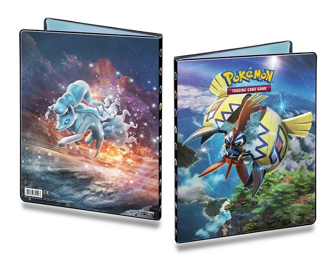 Pokemon: Sun & Moon 2 9-pocket Portfolio Box Front