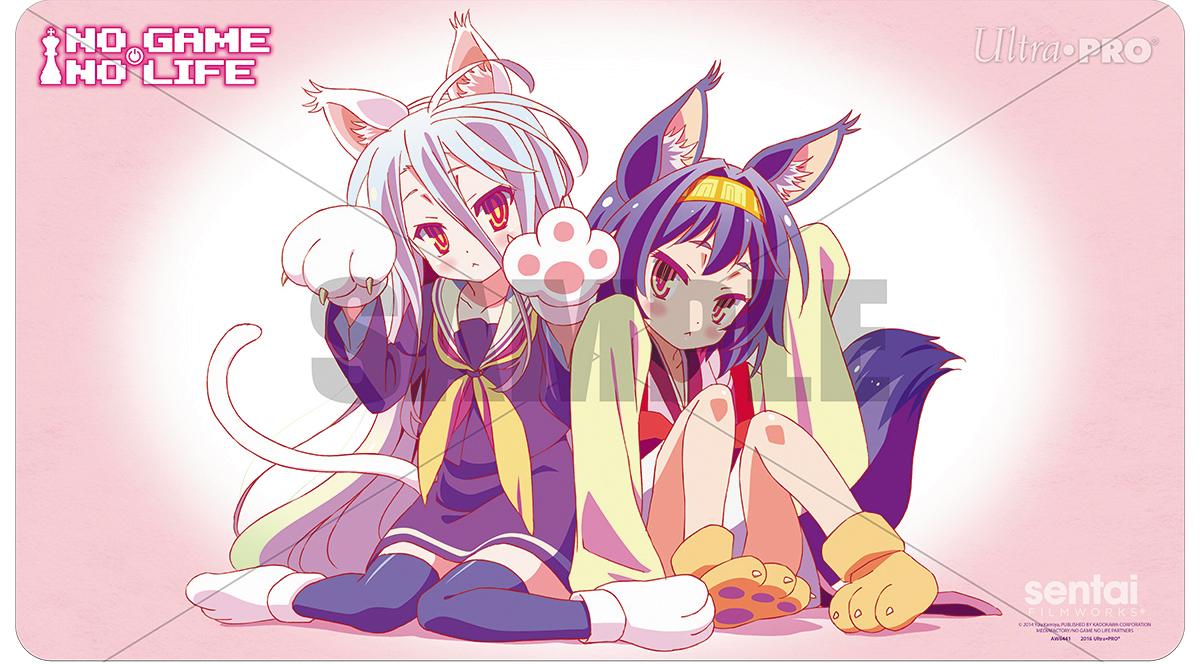 No Game No Life Play Mat - Shiro & Izuna Box Front