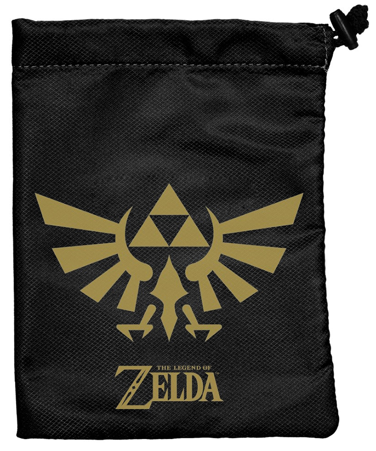 The Legend Of Zelda: Black & Gold Treasure Nest Box Front