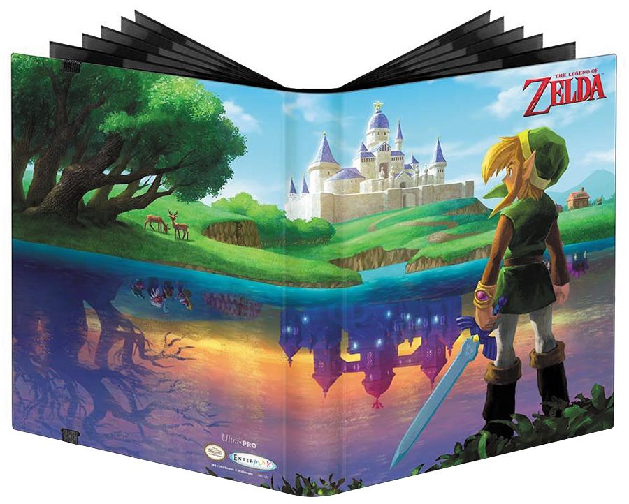 The Legend Of Zelda: A Link Between Worlds 9-pocket Full-view Pro-binder Box Front
