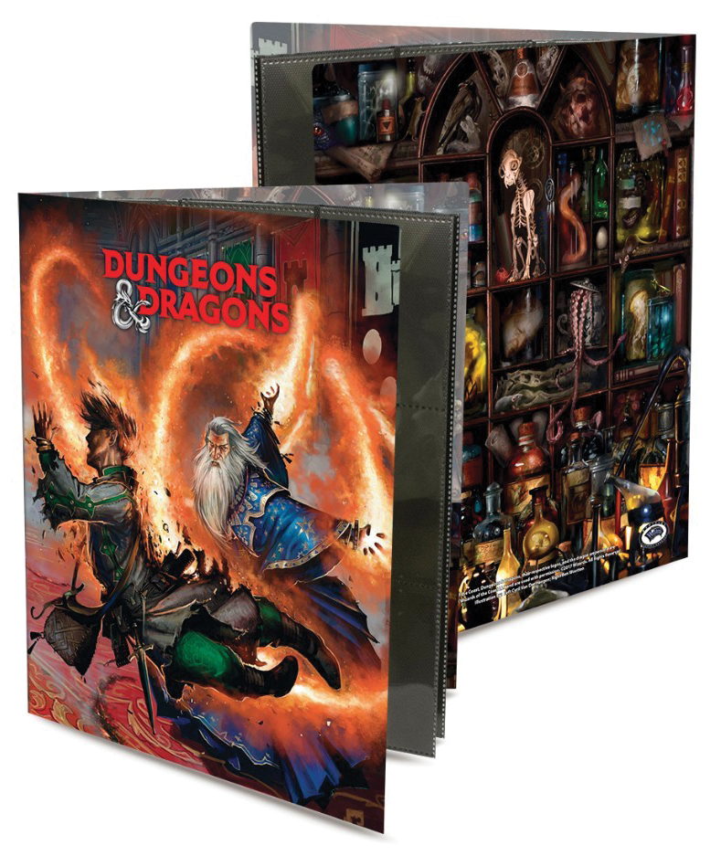 Dungeons & Dragons: Character Folio Wizard Box Front