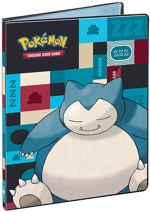 Pokemon: Snorlax 9-pocket Portfolio Box Front