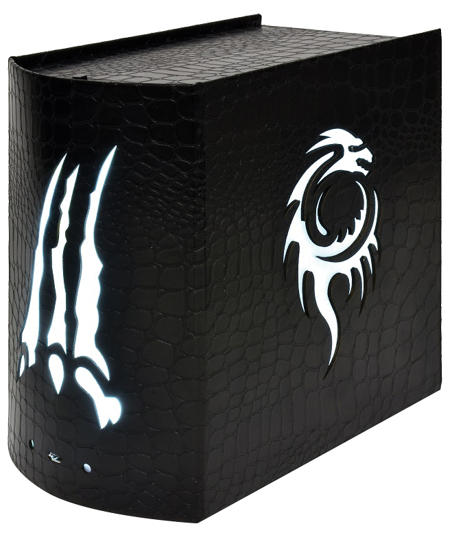 Opus Illuminated Card Chest: Dragonhide Box Front