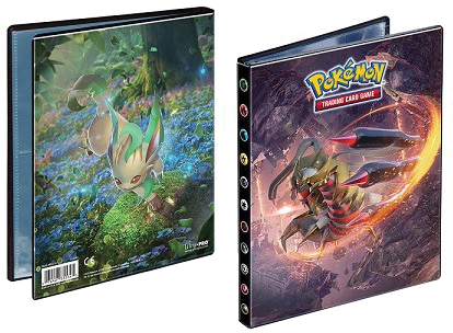 Pokemon: Sun & Moon 5 4-pocket Portfolio Box Front