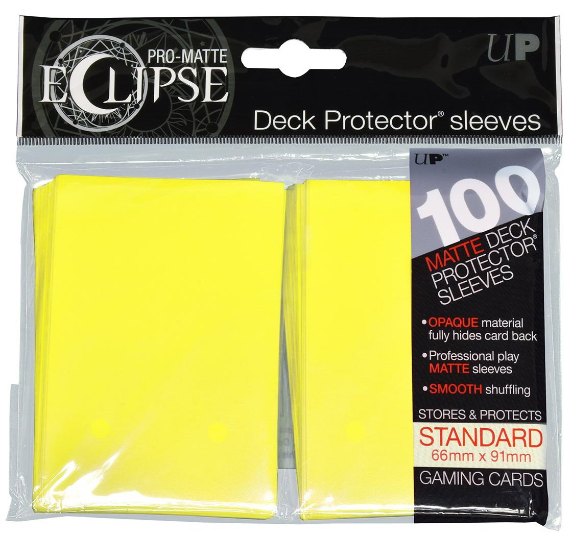 Pro-Matte Eclipse 2.0 Standard Deck Protector Sleeves (100 Count) (Royal Purple])