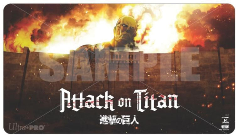 Attack On Titan: Play Mat - The Beginning Game Box