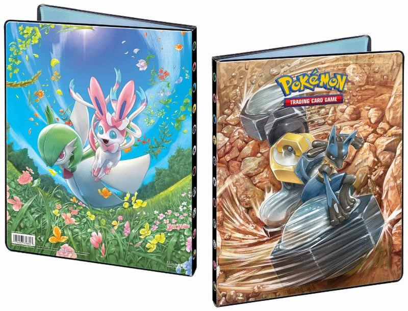 Pokemon: Sun & Moon 10 9-pocket Portfolio Game Box