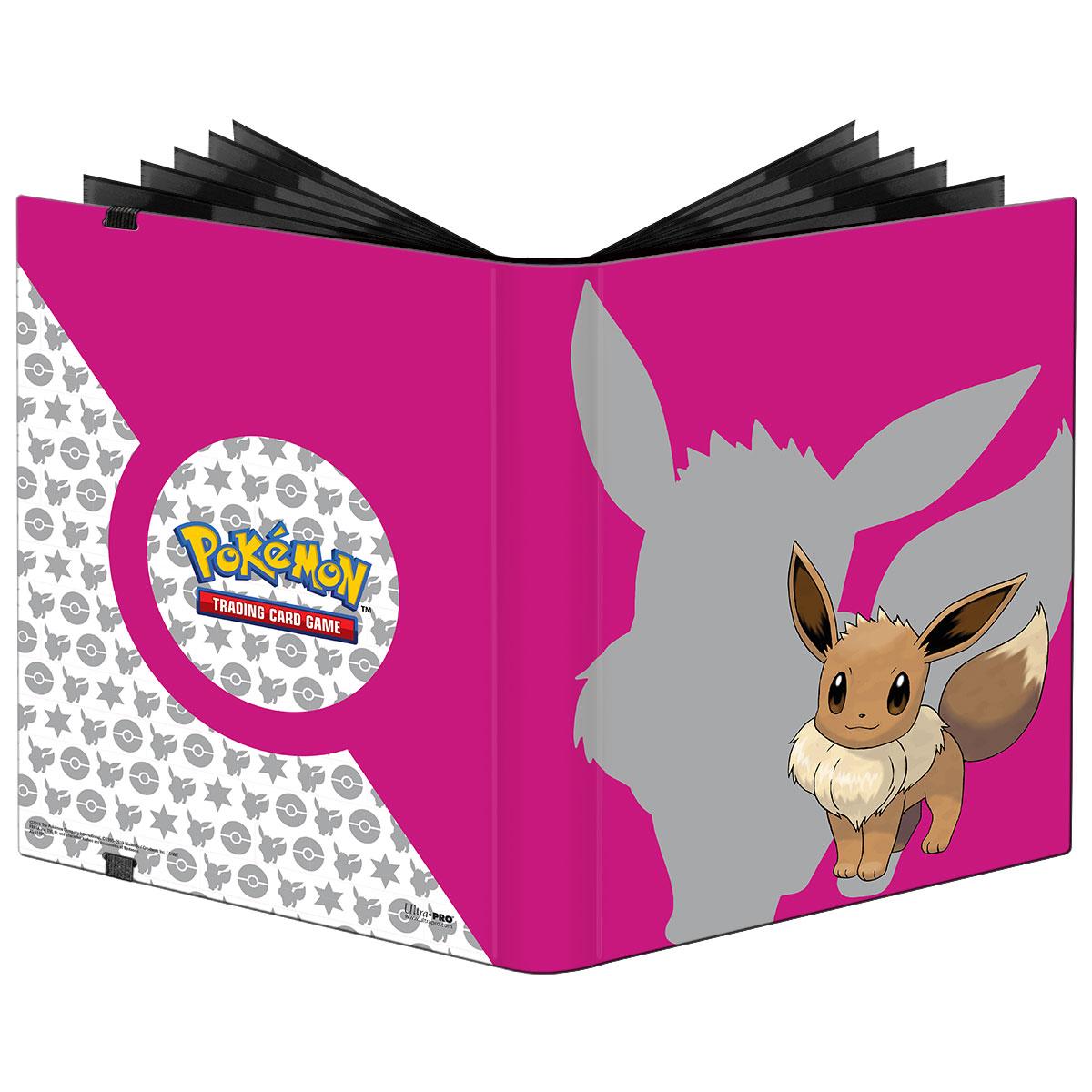 Pokemon Tcg: Eevee 2019 9-pocket Pro-binder Game Box