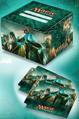 Magic The Gathering: Conspiracy Duel Deck Box And Deck Protector Sleeve Combo Box Front