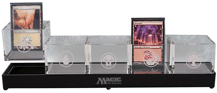 Magic The Gathering: Acrylic Land Caddy Box Front