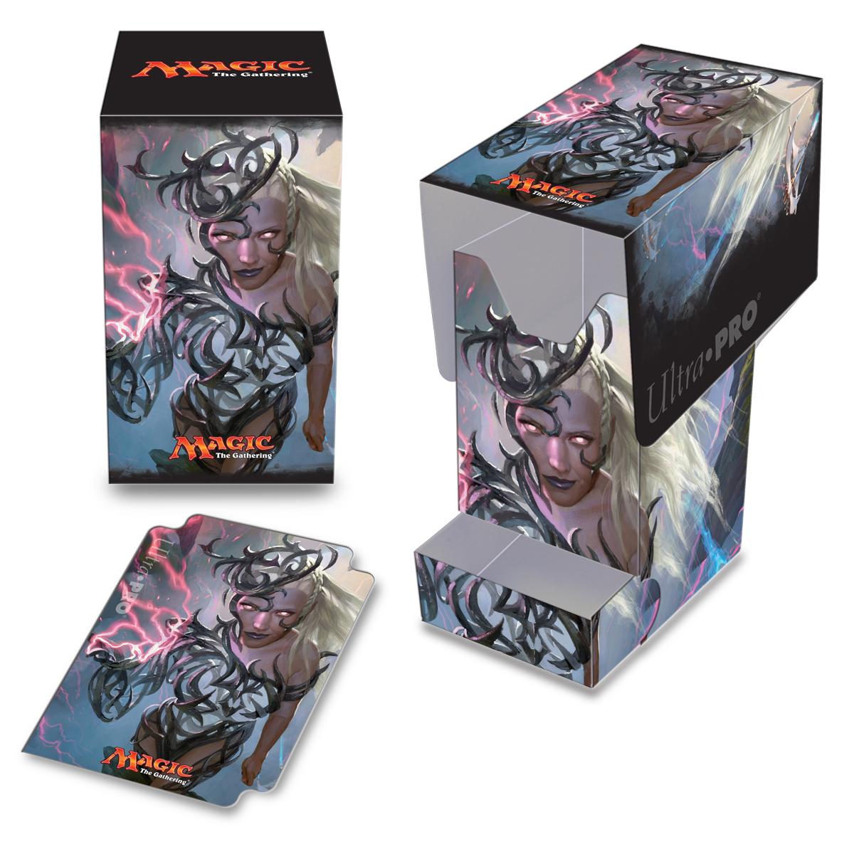 Magic The Gathering: Commander Breya, Etherium Shaperpro 100 Deck Box With Tray Box Front