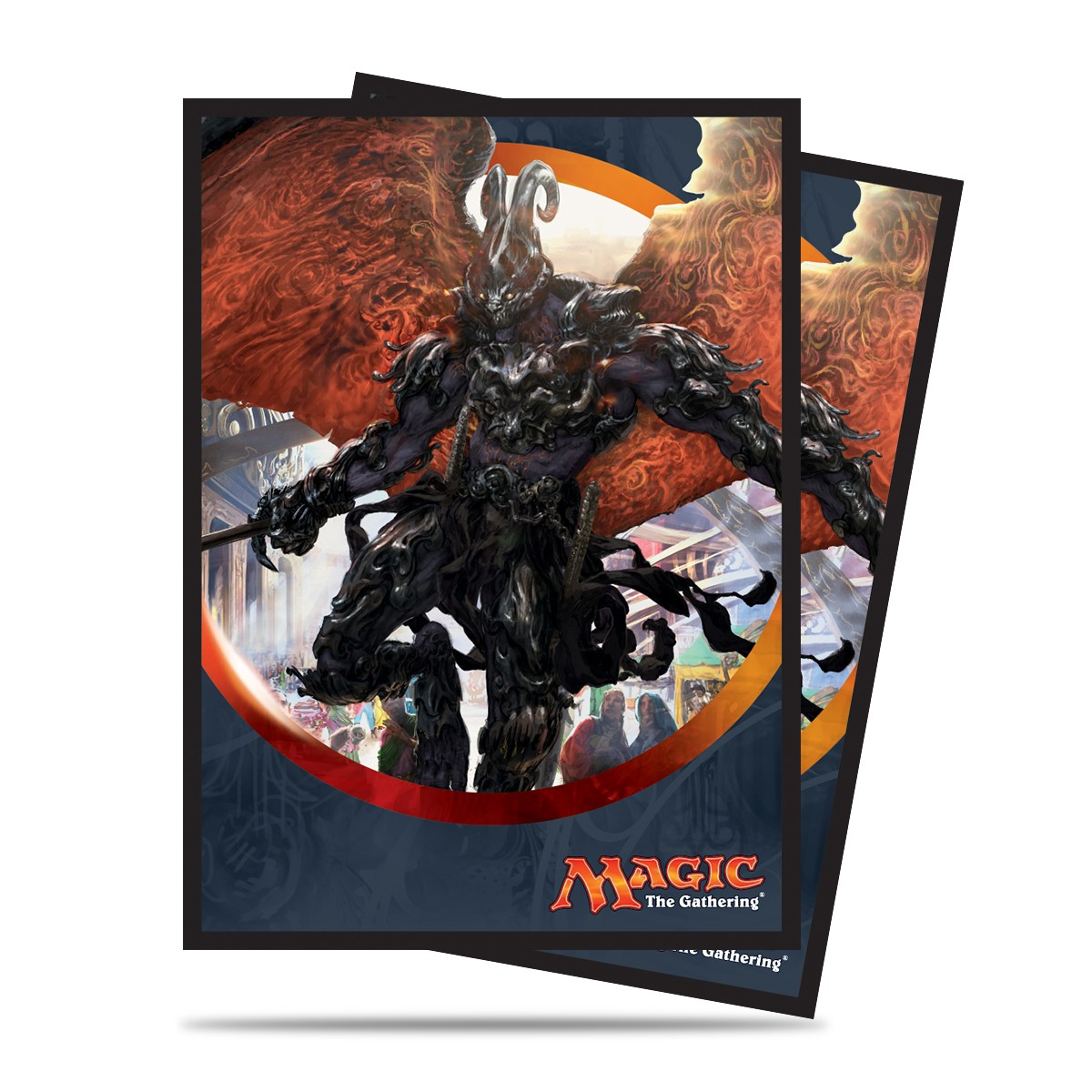 Magic The Gathering: Aether Revolt Standard Deck Protectors - Herald Of Anguish (80) Box Front