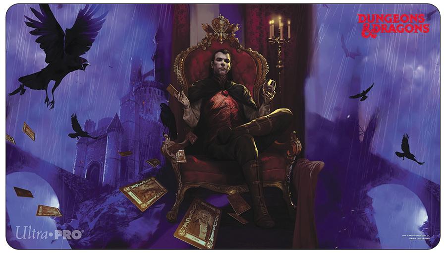 Dungeons & Dragons: Count Strahd Von Zarovich Play Mat 24in X 13.5in Box Front