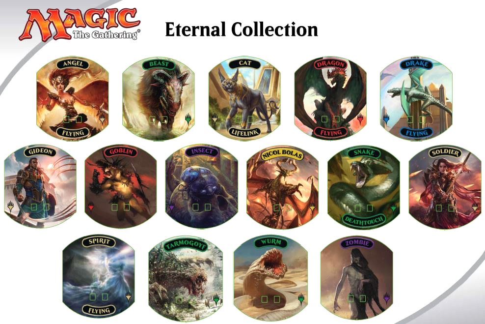 Magic The Gathering: Relic Tokens - Eternal Collection (24) Box Front