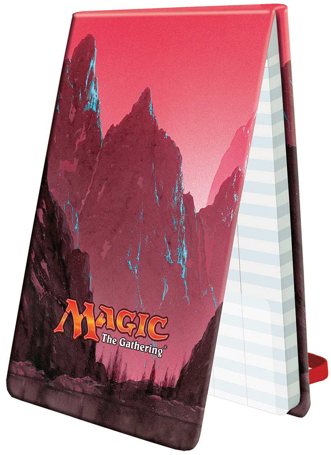 Magic The Gathering: Mana 5 Life Pad - Mountain Box Front