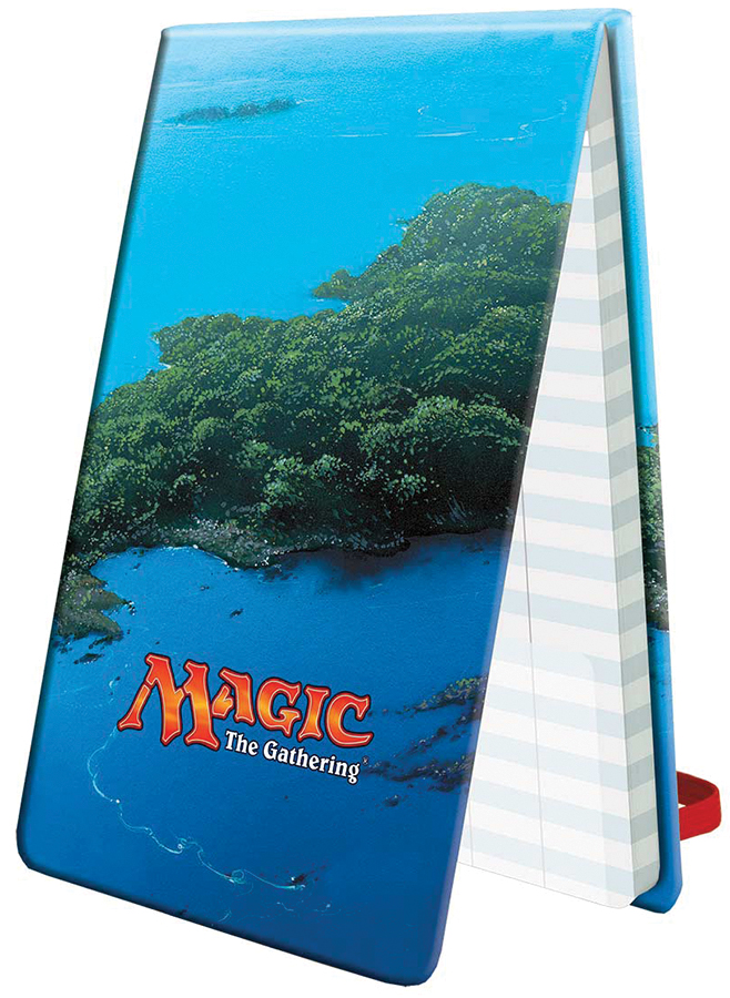Magic The Gathering: Mana 5 Life Pad - Island Box Front