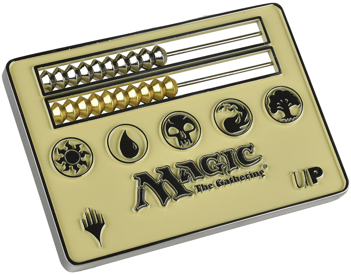 Magic The Gathering: Abacus Life Counter - White Box Front