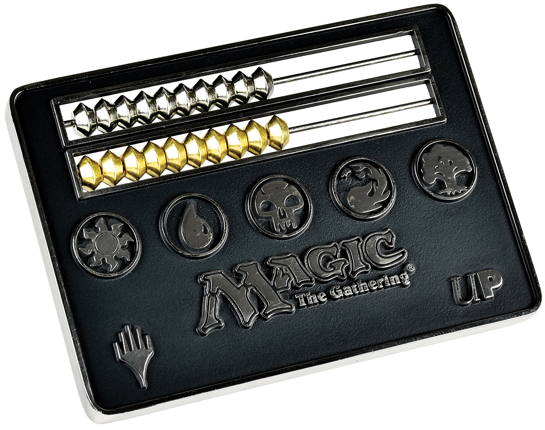 Magic The Gathering: Abacus Life Counter - Black Box Front