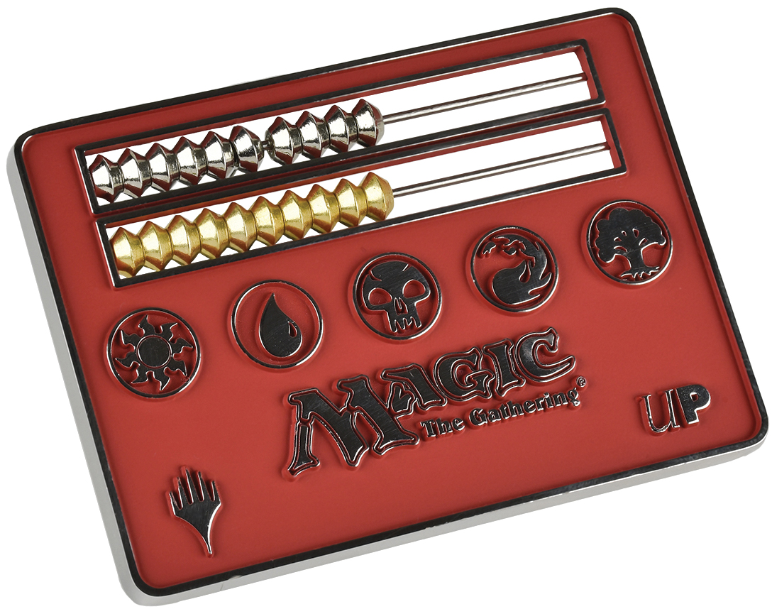 Magic The Gathering: Abacus Life Counter - Red Box Front