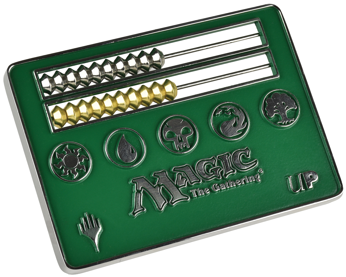 Magic The Gathering: Abacus Life Counter - Green Box Front