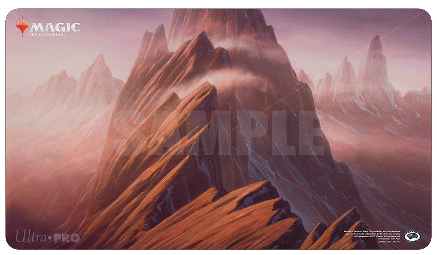 Magic The Gathering: Unstable Mountain Play Mat Box Front