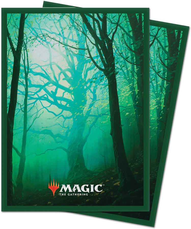 Magic The Gathering: Unstable Deck Protector Sleeves (100) - Forrest Game Box