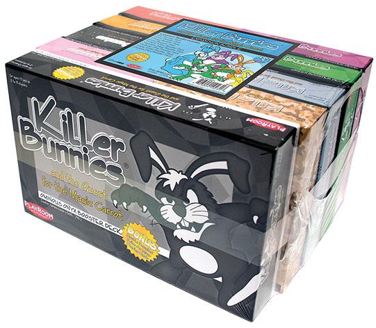 Killer Bunnies Quest Expansion Bundle Game Box