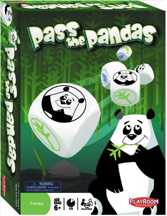 Pass The Pandas Box Front