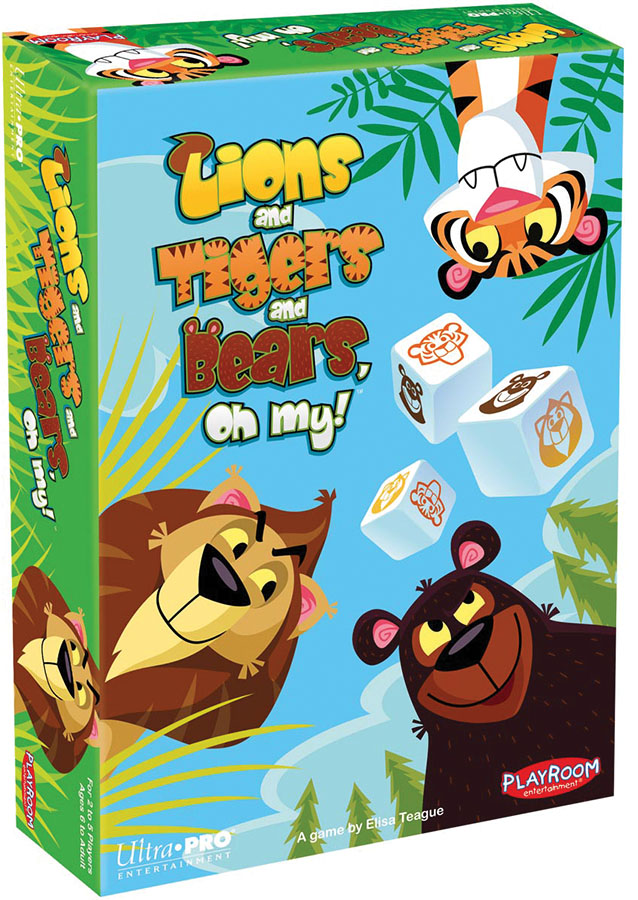 Lions And Tigers And Bears, Oh My! Game Box