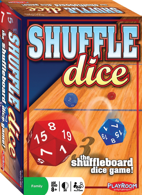 Shuffle Dice Box Front