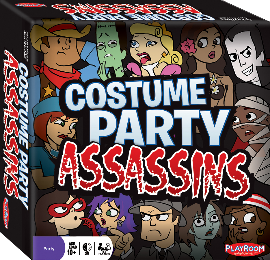 Costume Party Assassins Box Front