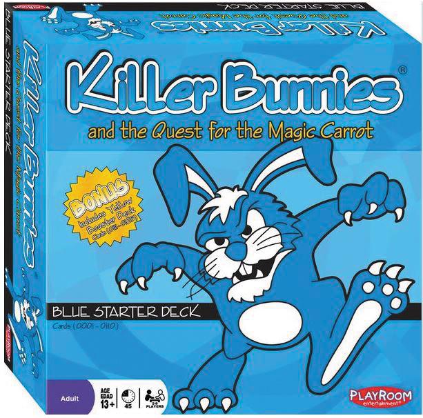 Killer Bunnies Quest Blue Starter Box Front