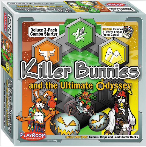 Killer Bunnies Odyssey Lively And Spry Starter Combo Box Front