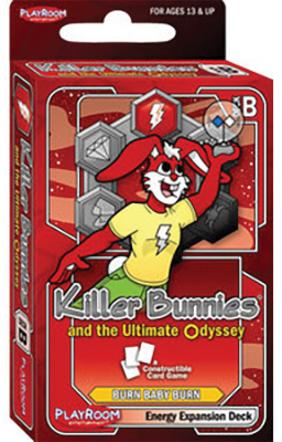 Killer Bunnies Odyssey Energy B Expansion Box Front