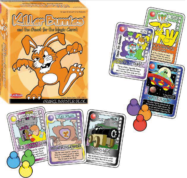 Killer Bunnies Quest Orange Booster Box Front