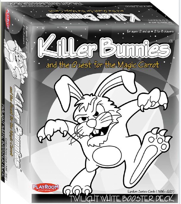 Killer Bunnies Quest White Booster Box Front