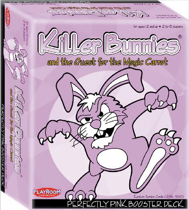 Killer Bunnies Quest Pink Booster Box Front