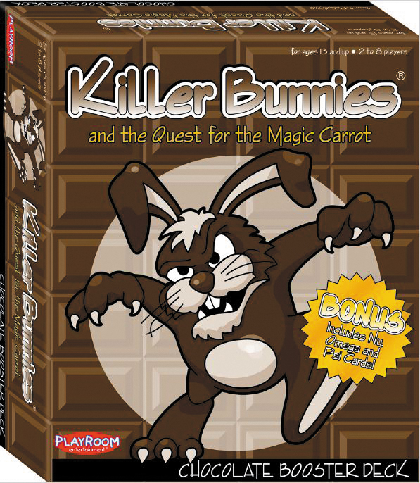 Killer Bunnies Quest Chocolate Booster Box Front