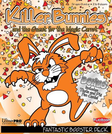 Killer Bunnies Quest Fantastic Booster Box Front