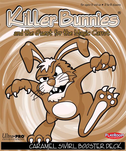 Killer Bunnies Quest Caramel Swirl Booster Box Front