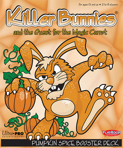 Killer Bunnies Quest Pumpkin Spice Booster Game Box