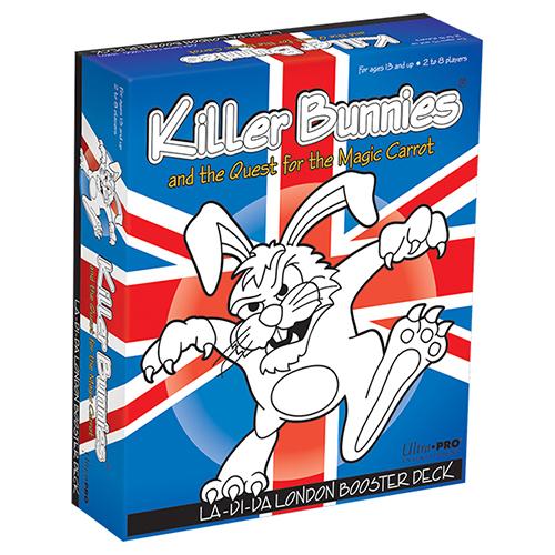 Killer Bunnies Quest La-di-da London Game Box