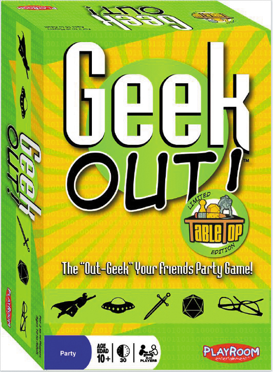 Geek Out! Tabletop Edition Limited Edition Box Front