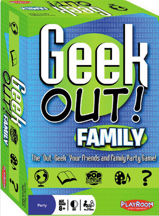 Geek Out! Family Edition Box Front