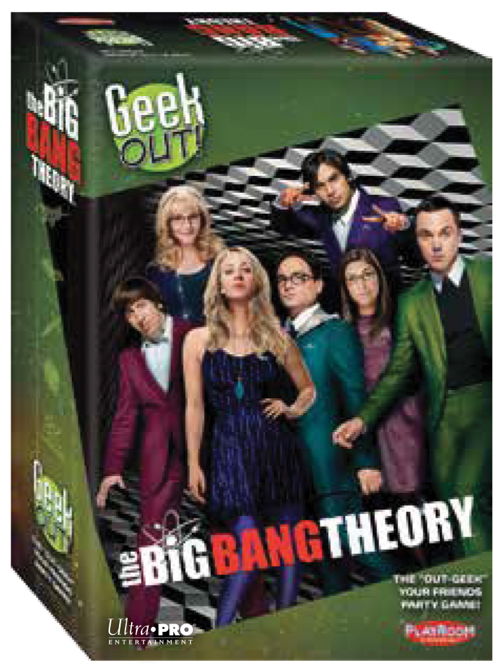 Geek Out! The Big Bang Theory Edition Box Front