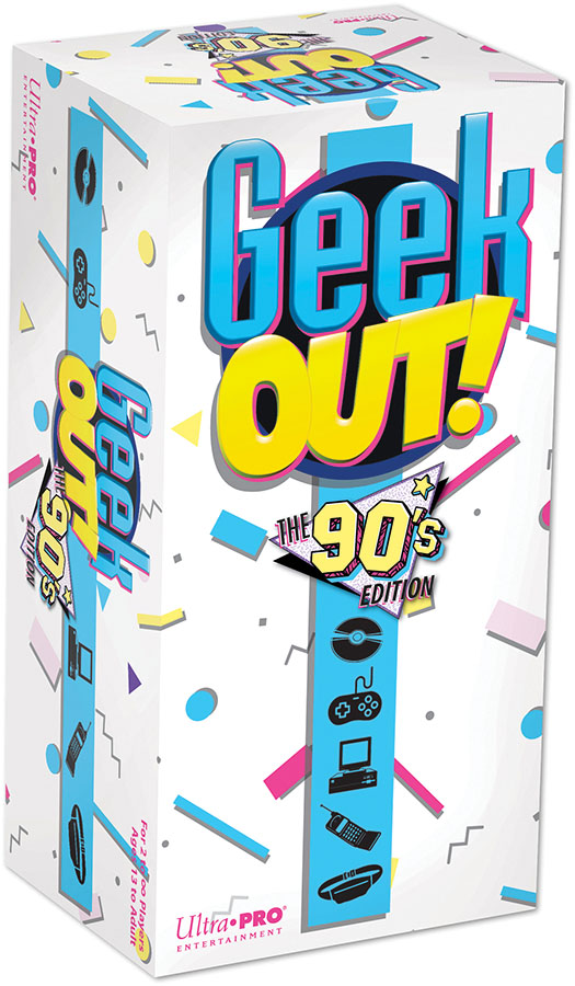Geek Out! 90`s Edition Game Box
