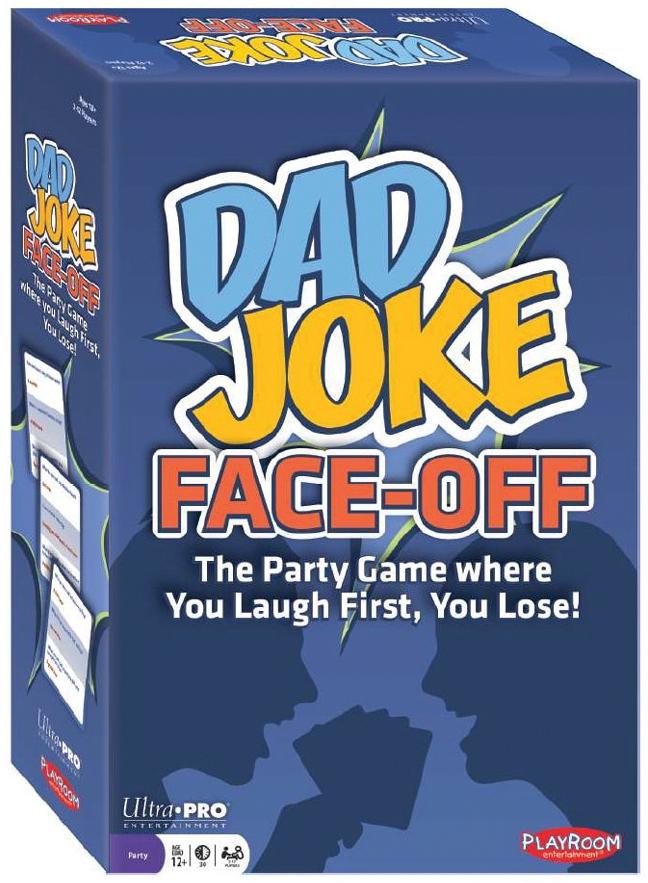 Dad Joke Face-off Box Front